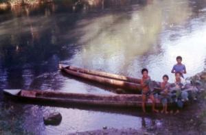 Maya village