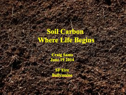 Soil Carbon: Where Life Begins by Craig Sams