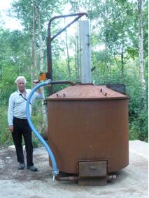 biochar kiln